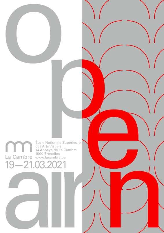 OPEN DOORS—A3 RGB RED
