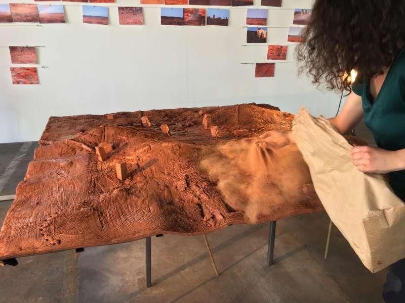 Odile-Artru-Master / Master / TERRITOIRES / Graduation show - KANAL-Centre Pompidou / 2019